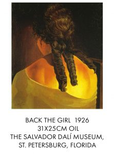 salvador dali Back the Girl 1926