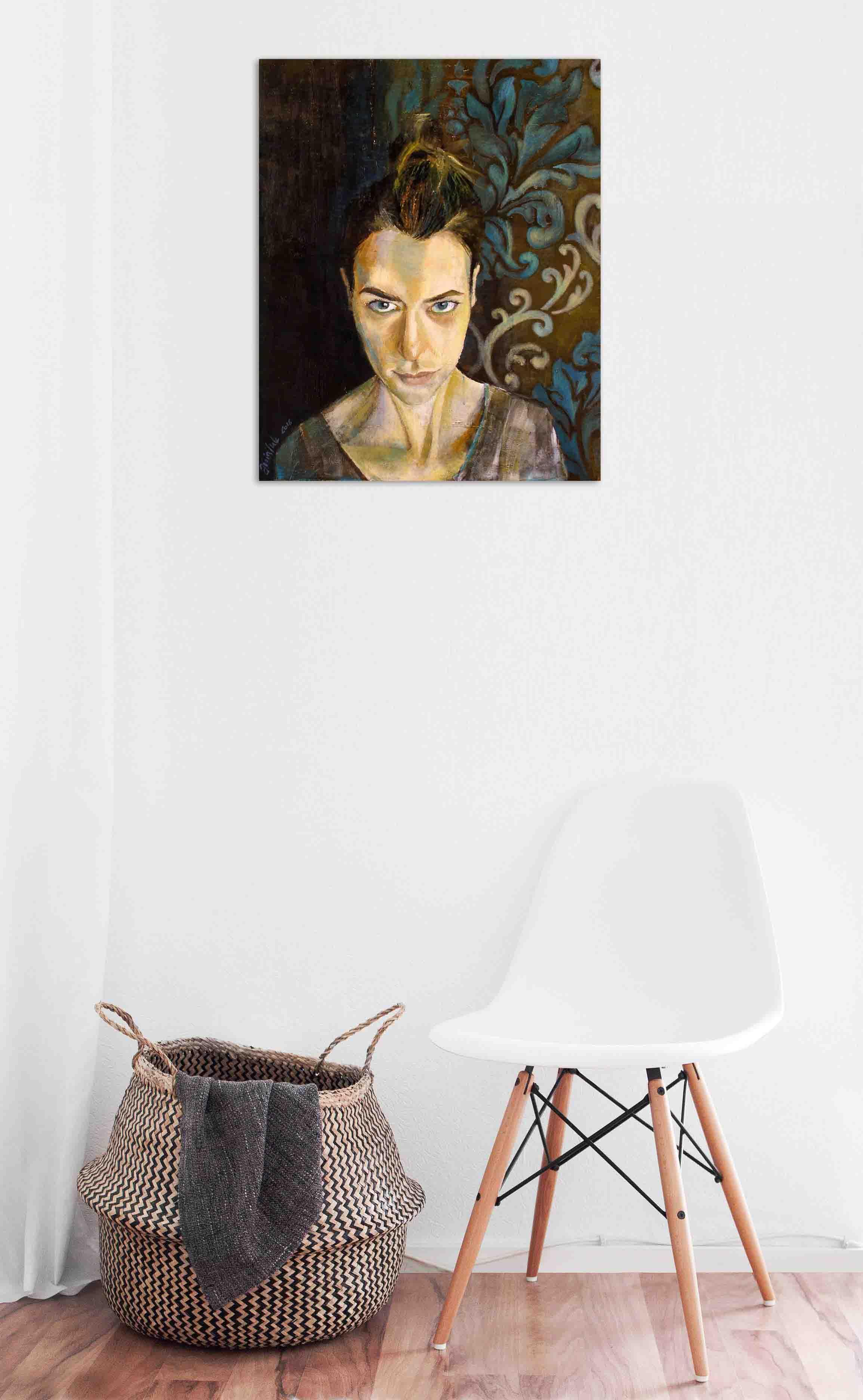 Self-Portrait 1 visualisation