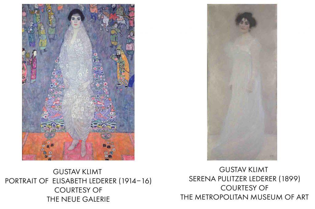 Gustav Klimt, Portrait of Elisabeth and Serena Lederer