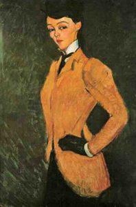 Amedeo Modigliani L'amazone