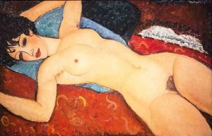 Amedeo Modigliani Nu Couché Reclining Nude