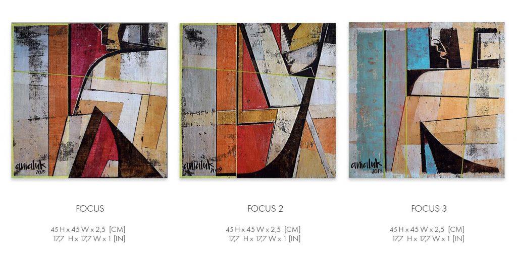Focus series by Ania Luk